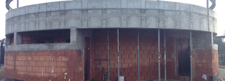 Železobetonové konstrukce - Rekreační oblast Pilská nádrž - Žďár nad Sázavou